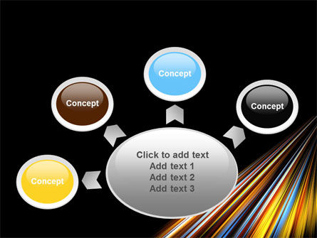 Color Lines PowerPoint Template Slide 7