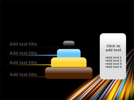 Color Lines PowerPoint Template Slide 8