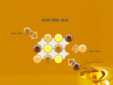 Abstract Bolt PowerPoint Template Slide 10