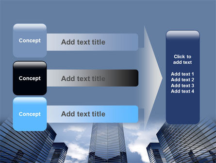 Business Center In Downtown PowerPoint Template Slide 12