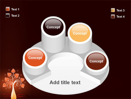 Design Tree PowerPoint Template Slide 12