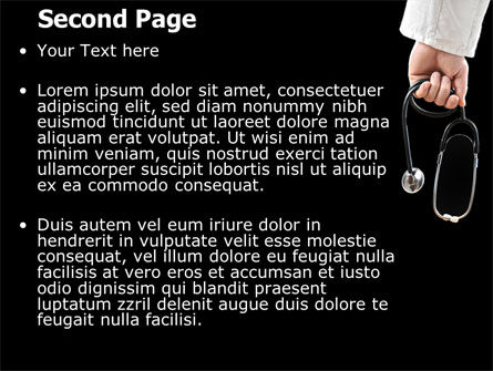 Medical PowerPoint Template, Slide 2, 07213, Medical — PoweredTemplate.com
