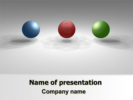 Consulting: RGB Color Model PowerPoint Template #07214
