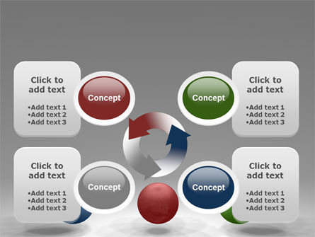 RGB Color Model PowerPoint Template Slide 9