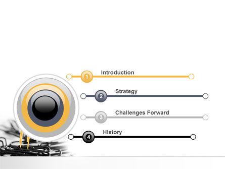 Paper Clip PowerPoint Template, Slide 3, 07216, Business Concepts — PoweredTemplate.com