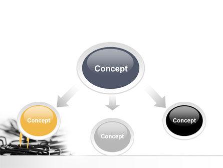 Paper Clip PowerPoint Template, Slide 4, 07216, Business Concepts — PoweredTemplate.com