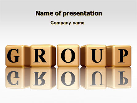 Business: Group PowerPoint Template #07217