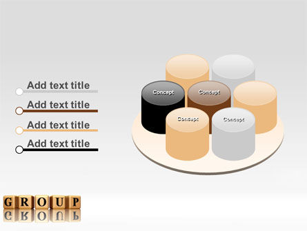 Group PowerPoint Template Slide 12