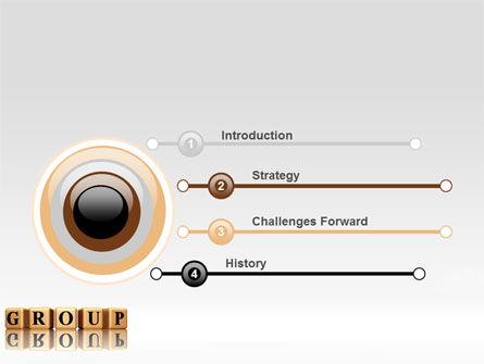 Group PowerPoint Template, Slide 3, 07217, Business — PoweredTemplate.com