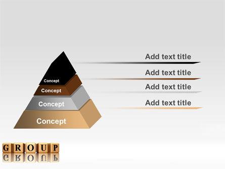 Group PowerPoint Template, Slide 4, 07217, Business — PoweredTemplate.com