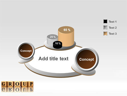 Group PowerPoint Template Slide 6