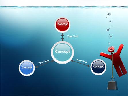 Drowner Man PowerPoint Template Slide 14
