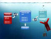 Drowner Man PowerPoint Template#13