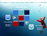 Drowner Man PowerPoint Template#16