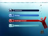 Drowner Man PowerPoint Template#3