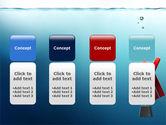Drowner Man PowerPoint Template#5