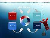 Drowner Man PowerPoint Template#6