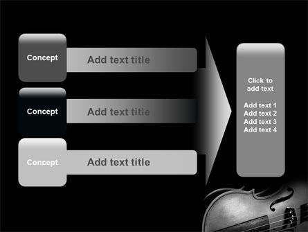 Dark Violin PowerPoint Template Slide 12
