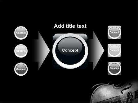 Dark Violin PowerPoint Template Slide 17