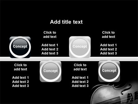 Dark Violin PowerPoint Template Slide 19