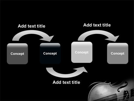 Dark Violin PowerPoint Template Slide 4