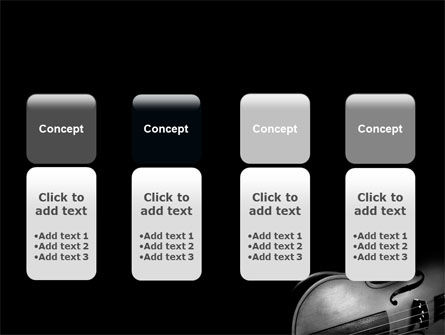 Dark Violin PowerPoint Template Slide 5