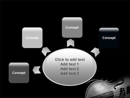 Dark Violin PowerPoint Template Slide 7
