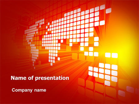 Business Interactive PowerPoint Template, 07220, Business — PoweredTemplate.com