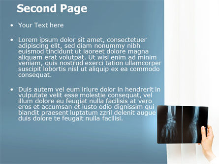 X-Ray Photography PowerPoint Template, Slide 2, 07221, Medical — PoweredTemplate.com