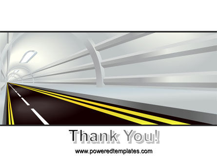 Tunnel Road PowerPoint Template Slide 20