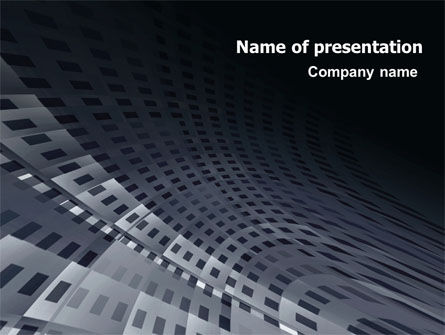 Abstract/Textures: Perforated Theme PowerPoint Template #07223