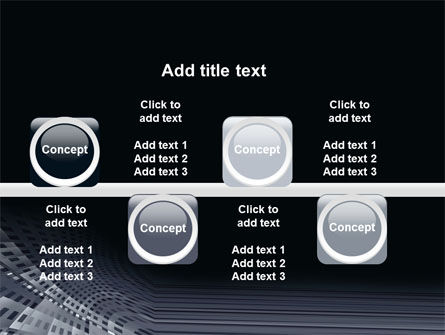 Perforated Theme PowerPoint Template Slide 19