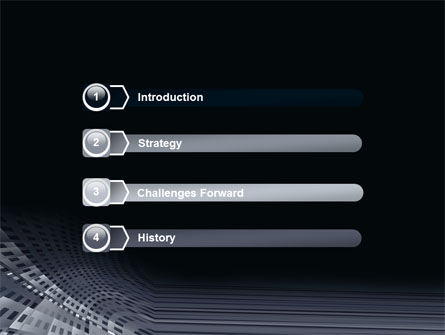 Perforated Theme PowerPoint Template, Slide 3, 07223, Abstract/Textures — PoweredTemplate.com