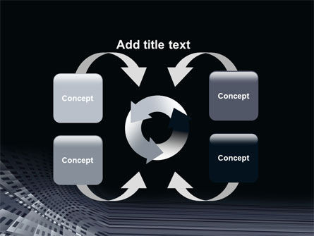 Perforated Theme PowerPoint Template Slide 6