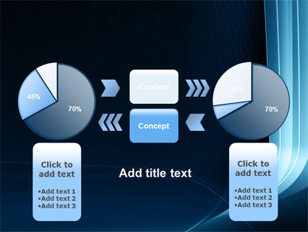 Midnight Blue Theme PowerPoint Template Slide 11
