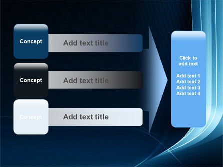 Midnight Blue Theme PowerPoint Template Slide 12
