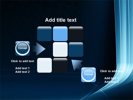 Midnight Blue Theme PowerPoint Template Slide 16