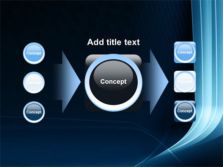 Midnight Blue Theme PowerPoint Template Slide 17