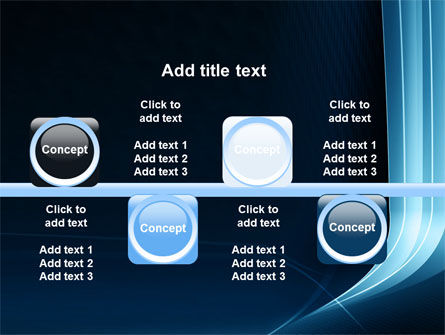Midnight Blue Theme PowerPoint Template Slide 19
