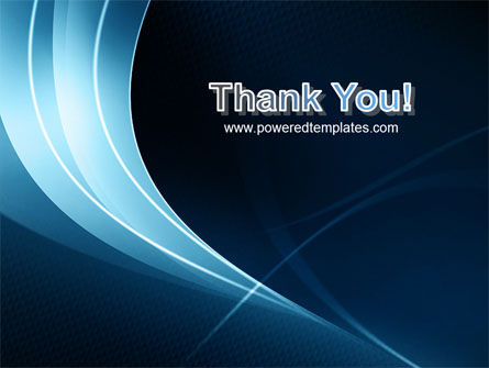 Midnight Blue Theme PowerPoint Template Slide 20