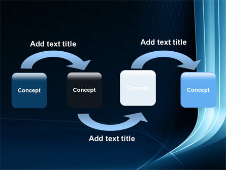 Midnight Blue Theme PowerPoint Template Slide 4
