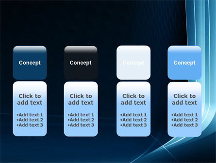 Midnight Blue Theme PowerPoint Template Slide 5