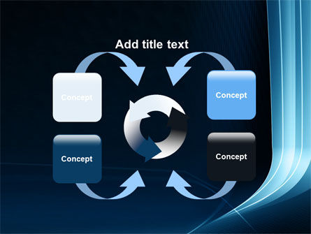 Midnight Blue Theme PowerPoint Template Slide 6
