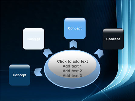 Midnight Blue Theme PowerPoint Template Slide 7