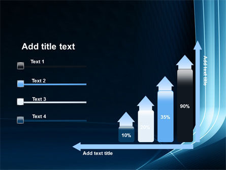 Midnight Blue Theme PowerPoint Template Slide 8