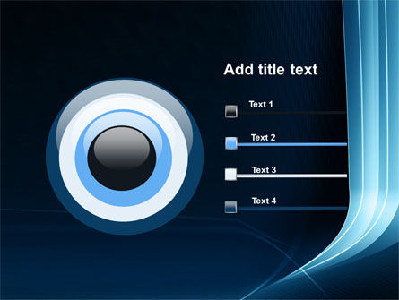Midnight Blue Theme PowerPoint Template Slide 9