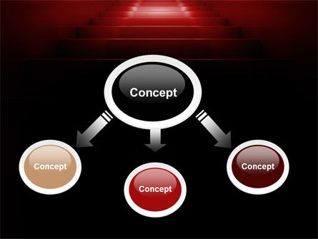 Stairway Of Fame PowerPoint Template, Slide 4, 07226, Business Concepts — PoweredTemplate.com
