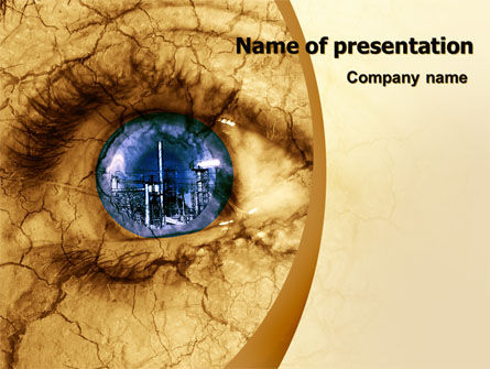 Nature & Environment: Industrial Revolution Free PowerPoint Template #07227