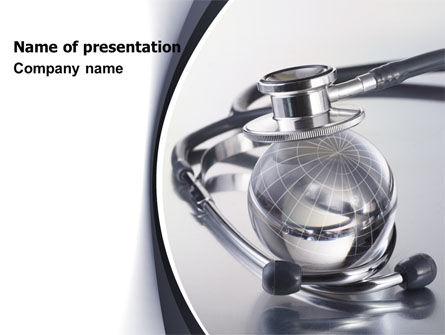World Healing PowerPoint Template, 07228, Medical — PoweredTemplate.com