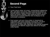 Crook PowerPoint Template#2